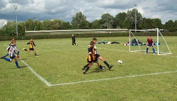 Tackle! IWCA under-12s mini football tournament
